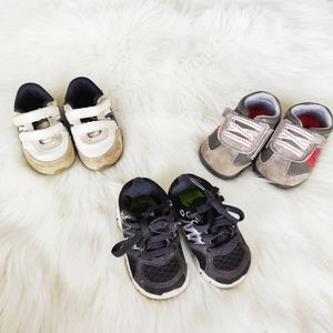 Bundle of three size 4 Toddler Shoes